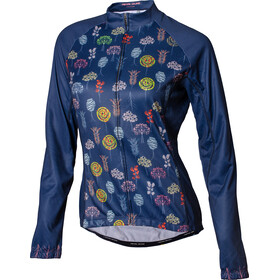 PEARL iZUMi Elite LTD Maillot à manches longues Thermique Femme, winter trees navy matches all